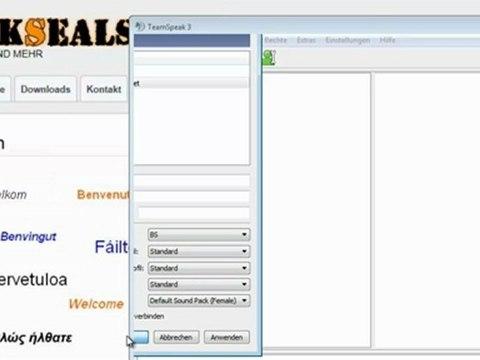 Teamspeak 3: Identitäten exportieren und importieren #4v4