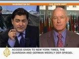 US state department speaks to Al Jazeera about leaked Afghan logs