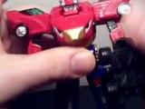 Power Rangers RPM Micro High Octane Megazord Review