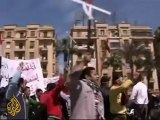 Protests against attacks on Copts