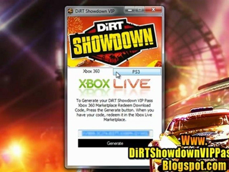 Unlock DiRT Showdown VIP Pass Code Free!