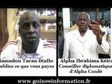 Alpha Ibrahima Kéira, Conseiller diplomatique d'Alpha Condé, et Mamadou Taran Diallo, de PCQVP, chez les Grandes Gueules, après les déclarations du président Alpha Condé