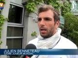 """Roland Garros 2012 :  Tsonga """"comme un lion"""" pour affronter Djokovic"""