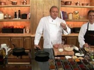 Alfons Schuhbeck kocht Fleischpflanzerl auf Schuhbeck Art auf www.321kochen.tv