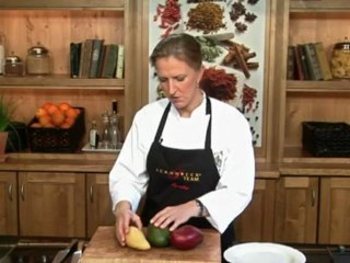 Lernen Sie richtig Mango schälen und schneiden auf www.321kochen.tv