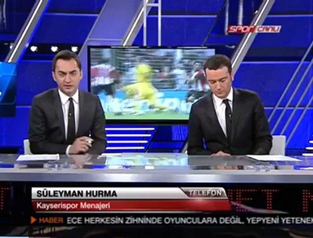 Kayserispor.org: NTV Süleyman Hurma