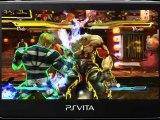 Street Fighter x Tekken PS Vita gameplay trailer 1