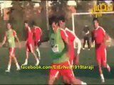 La séance d'entrainement de l'équipe nationale