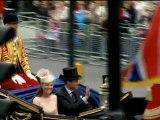 Final de las fiestas en honor de Isabel II