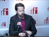 François Delapierre invité de RFI
