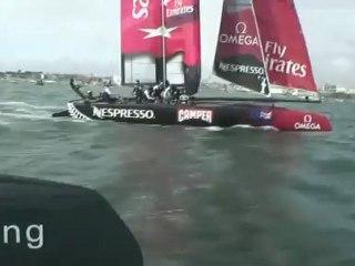Team Boat Footage: Best of Team NZ