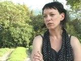 Corinne Morel-Darleux, non à la gare d'Allan