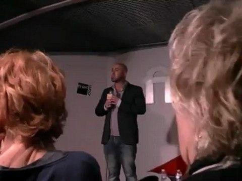 INTERVIEW  DE FRANK CASCIO -  FNAC DES HALLES - 06/06/2012 à PARIS   -1-