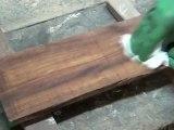 Comment dégraisser un bois exotique neuf
