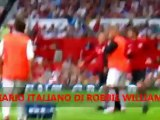 Robbie Williams Soccer Aid 2012