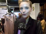 Backstage Beauty at Jasper Conran Fall 2012, LFW | FashionTV