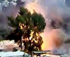 "Incredible destruction of Syrian tank by FSA rebels | ""Allahuakbar, Allahuakbar"" | 7 June 2012"
