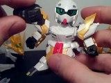 Lets Build Bandai & Jargon SD Tensyouryu Koumei Nu-Gundam Part 4