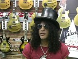 SLASH AND GIBSON TO SATISFY FANS APPETITE FOR CUSTOM GUITAR