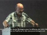 Assises bretonnes contre l'Islamisation - Padrig Montauzier