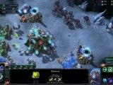 Starcraft II : Heart of the Swarm - Battle Report Protoss vs Zerg