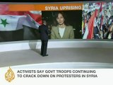 Hundreds protest in Syrian central city of Homs