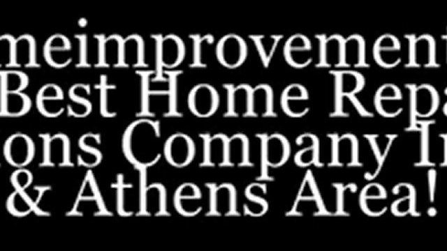 Residential Home Repair & Renovations! Atlanta & Athens Home Renovation Experts.