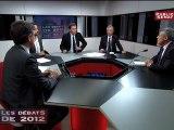 Les débats de 2012 : Henri Guaino et Arnaud  Montebourg