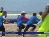 La Vendée, ses plages ... et ses jeunes rugbymen