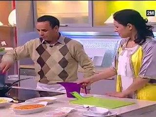 Recette Du Poulet Farci (Spaghetti à La Sauce)