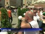 Euro-2012: ambiance à Lviv avant Allemagne-Portugal