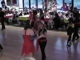 gala  2012  - danses à deux à douarnenez -  enfants niveau 2 -  cha cha