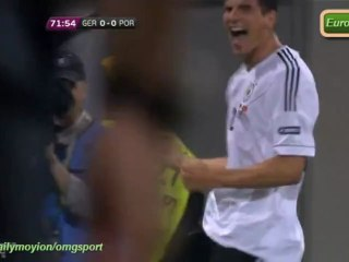 GERMANY 1-0 PORTUGAL Match highlights HD Euro2012 09.06.2012