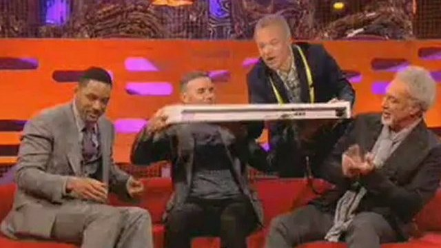 The Fresh Prince of Bel Air  Will Smith and Gary Barlow on The Graham Norton Show