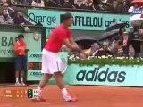 French Open Roland Garros Men Finals Novak Djokovic vs Rafa Nadal (4th set)