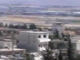 Syria فري برس ريف حلب  قصف على بيانون وحيان  10 6 2012 Aleppo