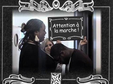 Une journée particulière. Accident de plain-pied à l'UCF Paris ( ERDF-GrDF)