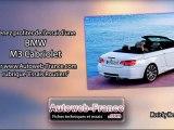 Essai BMW M3 Cabriolet - Autoweb-France