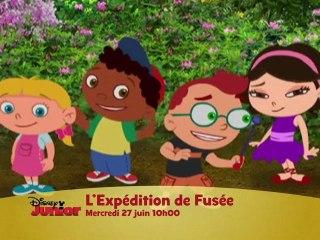 Disney Junior - L'expédition de Fusée - Mercredi 27 Juin à 10H00