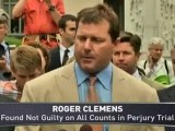 Roger Clemens Discusses Verdict