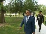 Cumhurbaşkanı Gül, Garnizon Komutanlığını ziyaret etti.
