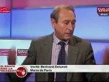 """Bertrand Delanoë  """" l'UMP est en train de régresser """" dans En route vers la présidentielle"""