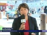 Martine Aubry et C Duflot à La Rochelle pour soutenir Ségolène Royal France 3 Poitou-Charentes 12-06-2012