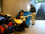 SF BART GUITAR BUSKING _ Embarcadero Station