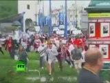 Euro 2012 : Batailles rangées entre Russes et Polonais à Varsovie