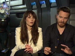 Michael Fassbender & Noomi Rapace - Interview Michael Fassbender & Noomi Rapace (Anglais)
