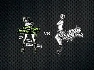 Romsey Town Rollerbillies vs Helsinki Roller Derby