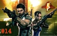 resident evil 5 - chapitre 6 partie 3 ( fin du jeux ) - xbox360