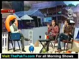 Aaj Subh with Ali Salman - 13th June 2012 Part 1