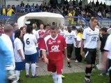 Football: les images de la première mi-temps de la finale de la Coupe de l'Oise
